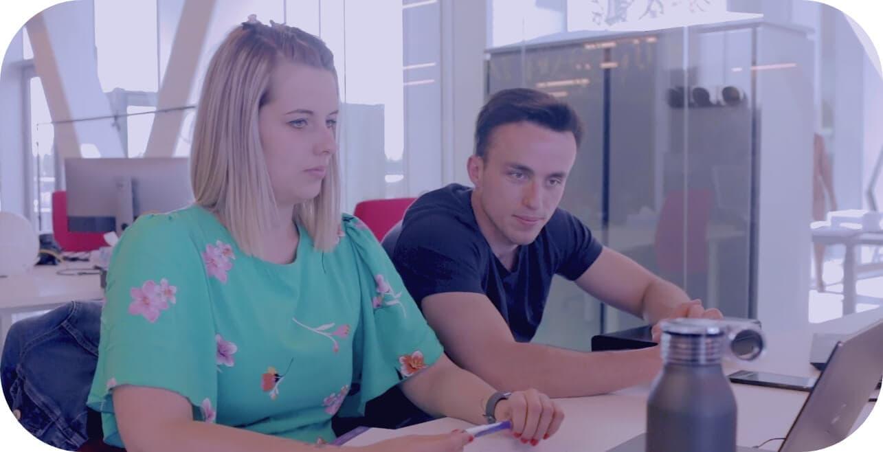 Matthias en Ellen codrigo meeting